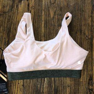 Kyodan Intimates & Sleepwear - Kyodan soft sports bra M blush pink army green